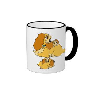 Lady Disney Ringer Mug