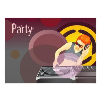Lady DJ Urban Party Card
