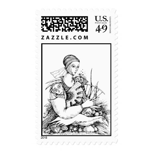 Lady Do Stamp