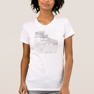 Lady Dog Shirt by Julia Hanna