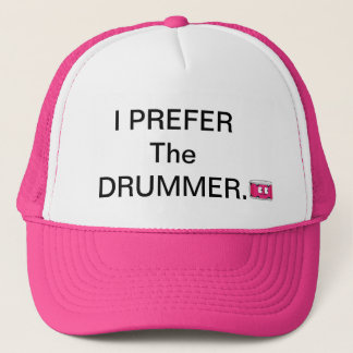 Lady DrumHead Prefer Trucker hat