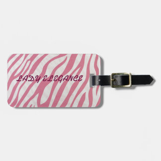 LADY ELEGANCE COLLECTION TAG FOR LUGGAGE