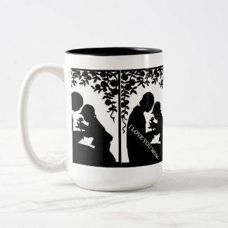 LADY ELEGANCE COLLECTION Two-Tone COFFEE MUG