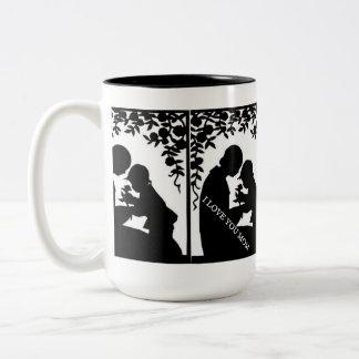 LADY ELEGANCE COLLECTION Two-Tone COFFEE MUG