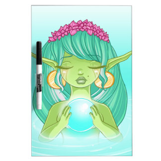 Lady elf of the lake Dry-Erase boards