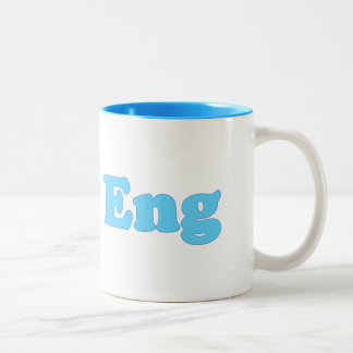 Lady Eng Two-Tone Coffee Mug