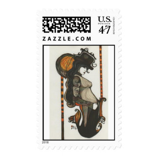 Lady Enigma Authentic USPS Postal Stamps