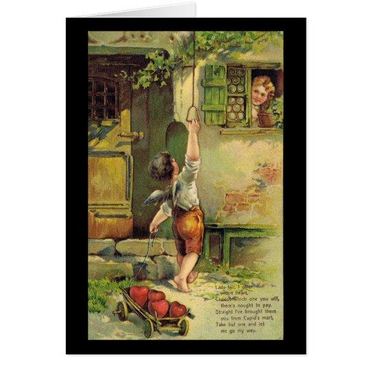 Lady Fair Valentine Card