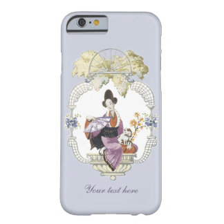 Lady Fan and Dog Barely There iPhone 6 Case