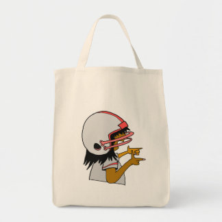 Lady Fantasy Football Graphic Tote Bag