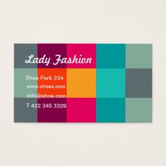 Lady Fashion Business Card