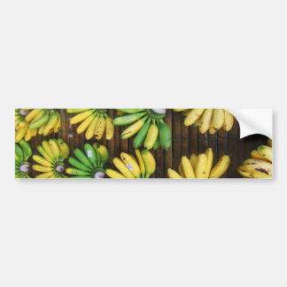 Lady Finger Bananas ~ Egg Banana (กล้วยไข่) Bumper Sticker