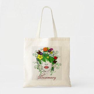 Lady Flora Tote Bag