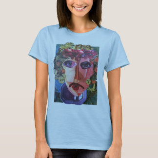 Lady Flower Helping Homeless People T-Shirt