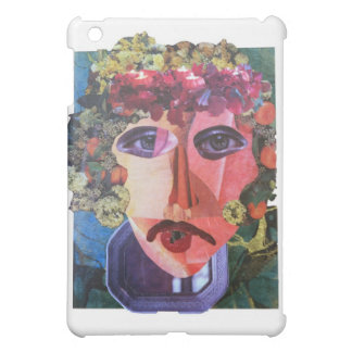 Lady Flower Power Helping Homeless People iPad Mini Cover