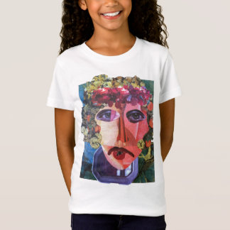 Lady Flower Power Helping Homeless People T-Shirt