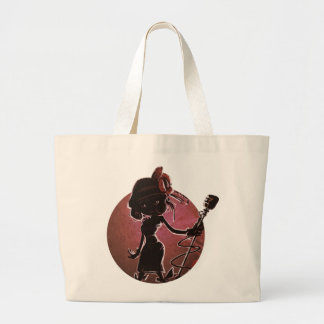 Lady from Jazz: Trump' S Journey Canvas Bags