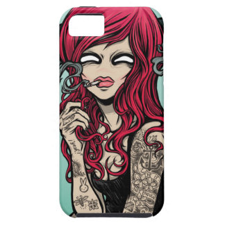 Lady Gangster iPhone Case