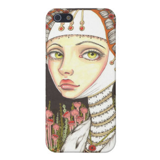 Lady Gertrude in the Garden of Curiosities iPhone 5 Covers