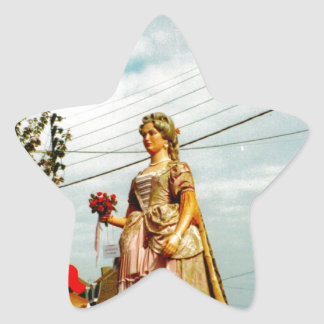 Lady Giant, Parade of the Giants, Flanders Star Sticker