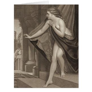 Lady Godiva 1873 Greeting Cards