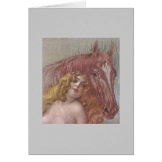 Lady Godiva 1 Greeting Cards