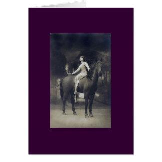 Lady Godiva 2 Greeting Card
