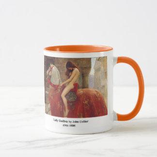 Lady Godiva, by John Collier Mug