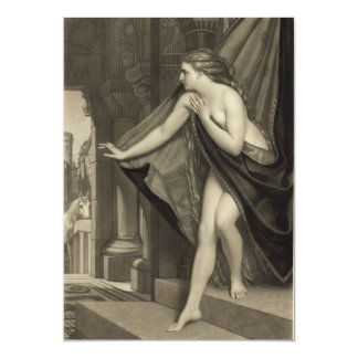 Lady Godiva by T.L. Atkinson 1874 Card