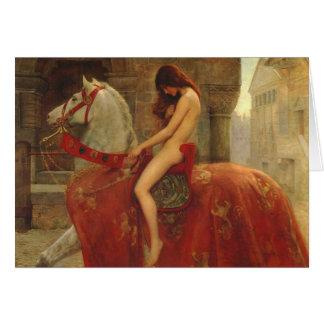 Lady Godiva John Collier 1898 Card