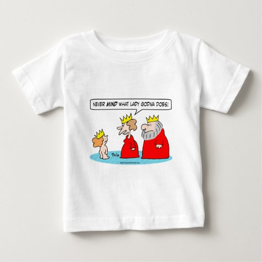 lady godive nude princess king queen baby T-Shirt