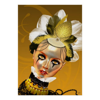 Lady Gold Poster