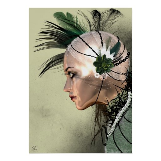 Lady Green Poster