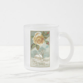 Lady Grey Perfume USA Frosted Glass Coffee Mug