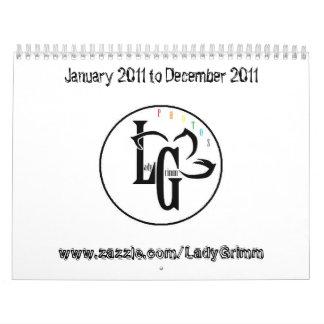 Lady Grimm Calendar