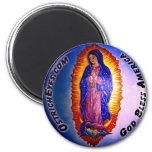 Lady Guadalupe Blessing Refrigerator Magnet