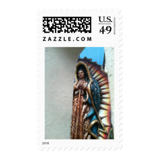 Lady Guadalupe By Bernadette Sebastiani Stamp