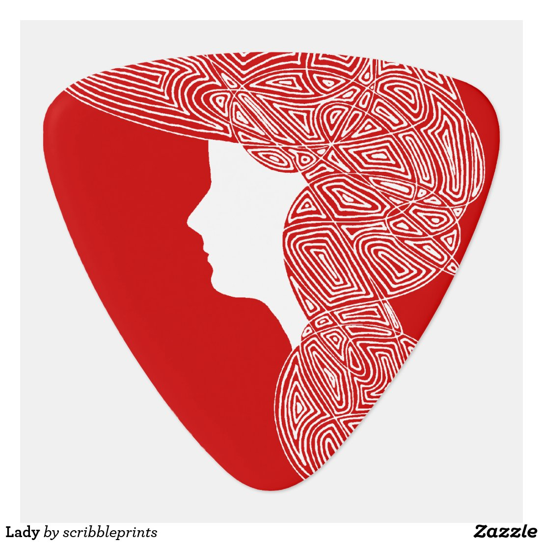 Lady Guitar Pick