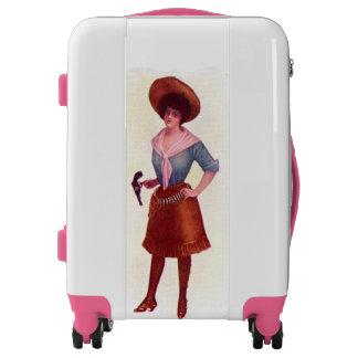 Lady Gunslinger Luggage