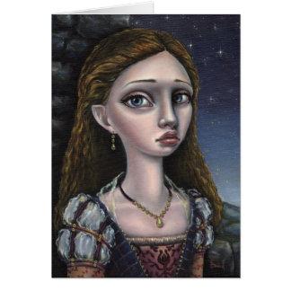 Lady Gwendolyn Greeting Card