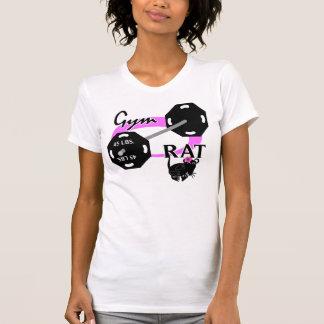 Lady Gym Rat Weightlifting T-Shirt