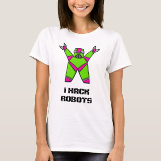 Lady hacker T-Shirt