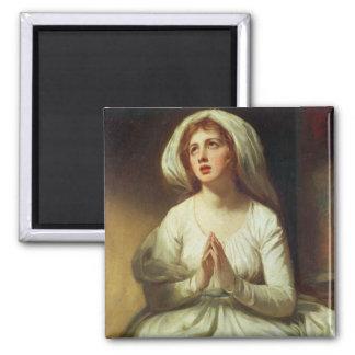 Lady Hamilton Praying Magnet