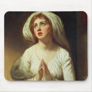 Lady Hamilton Praying Mouse Pad
