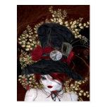 Lady Hatter Postcard