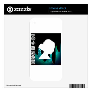 LADY HEAD PRODUCTS DECALS FOR THE iPhone 4S