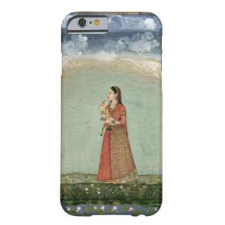Lady holding a bowl of roses, from the Small Clive Barely There iPhone 6 Case