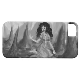 Lady in a Cave iPhone SE/5/5s Case