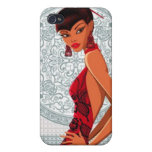 Lady in a Kimono -  iPhone 4 Cover