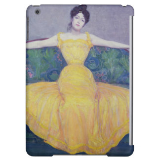 Lady in a Yellow Dress, 1899 iPad Air Case
